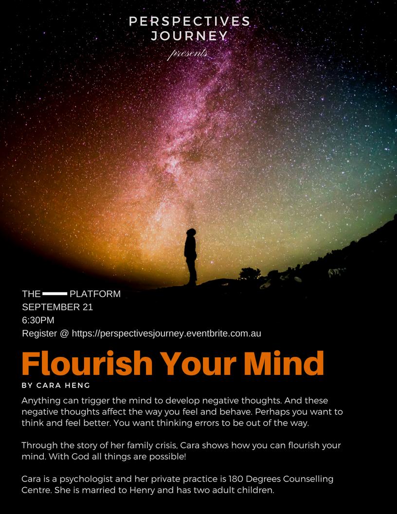 Flourish Your Mind - Cara Heng